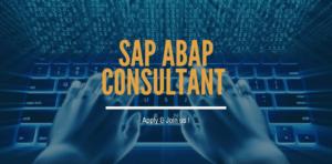 SAP ABAP Consultant